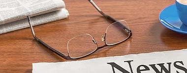 Brille, Zeitung