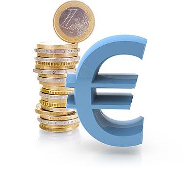 Geld, Eurozeichen