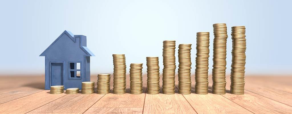 Haus, Geld, Geldstapel