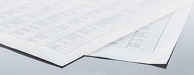 Zinskommentar, Papier, Blätter