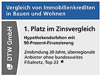 4x ein 1. Platz im Zinsvergleich in Stiftung Warentest Finanztest 02/2021.