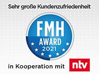 """""""Sehr große Kundenzufriedenheit"""" beim FMH-Award 2021"""
