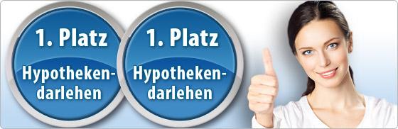 2x 1. Platz für DTW-Immobilienfinanzierung!