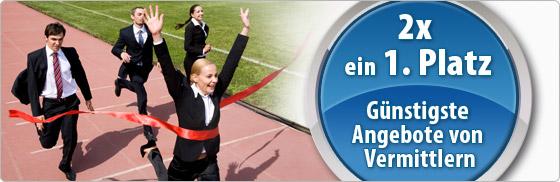 1. Platz beim Baugeld in €uro für DTW-Immobilienfinanzierung
